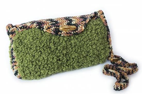 Bolso Anaconda: ¡tejido a mano!