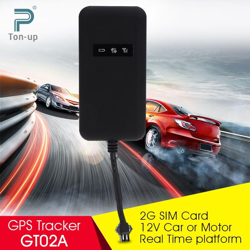 Mini GT02A GPS Tracker Car Motorcycle GSM GPRS GPS Tracker Real Time