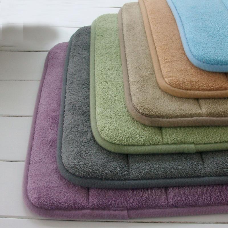 Extra Large Memory Foam Anti Skid Bath Mat Super Soft Bathroom