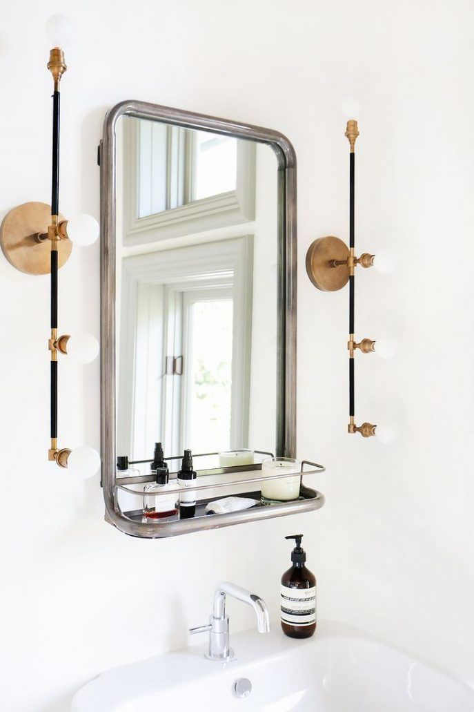 Bathroom Wide Mirror Ideas Modern Paint Colors Mirrors Wood Framed