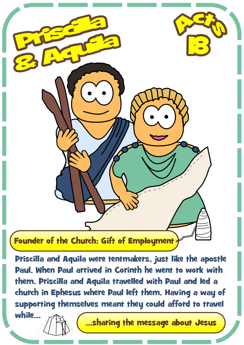 Free Coloring Pages Download Hero Resources For Priscilla Aquila Jesus Without Language Of Paul The