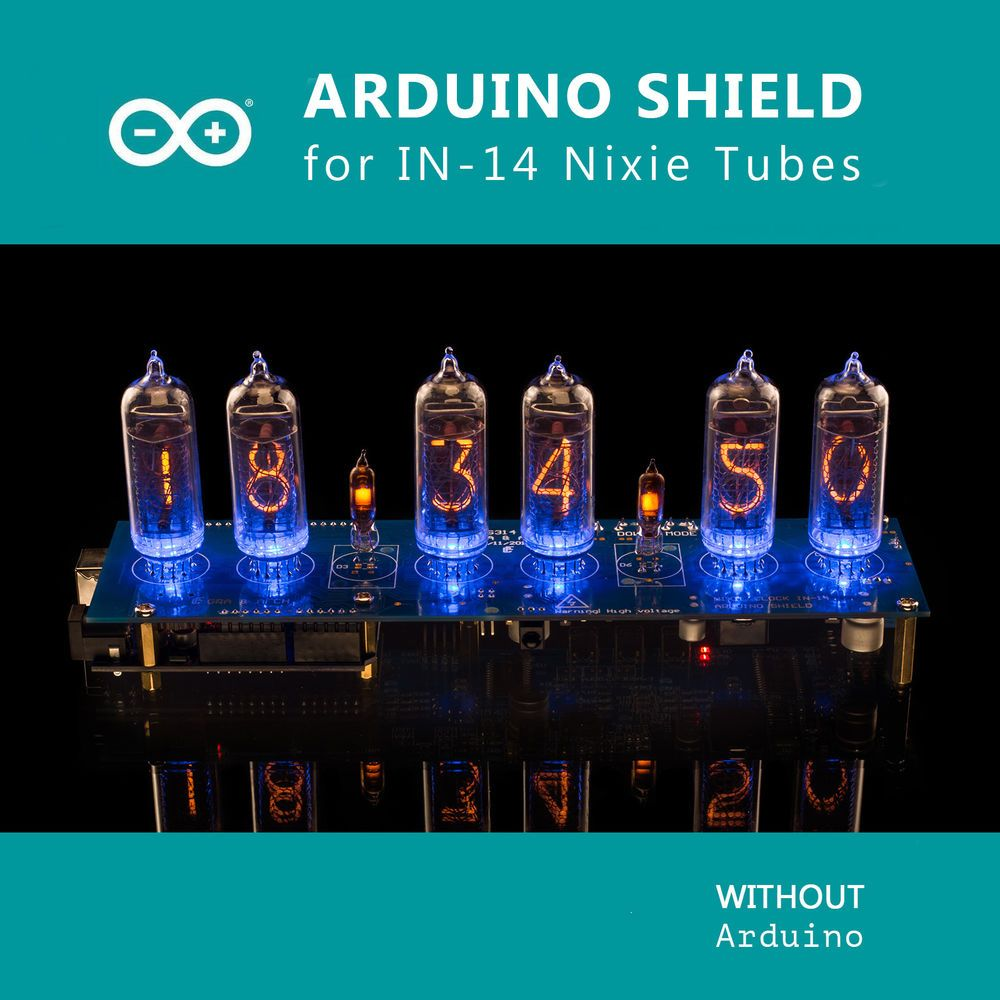Details about DIY kit Nixie Tubes Clock Arduino Shield
