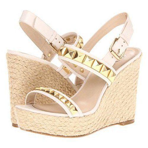 52eec02f63 Fashion Bug Wedge Sandal in Vanilla. www.fashionbug.us #FashionBug
