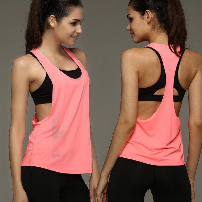 Activewear Tops Reebok Easytone Function Shirt Tank Top Fitness Top Bra