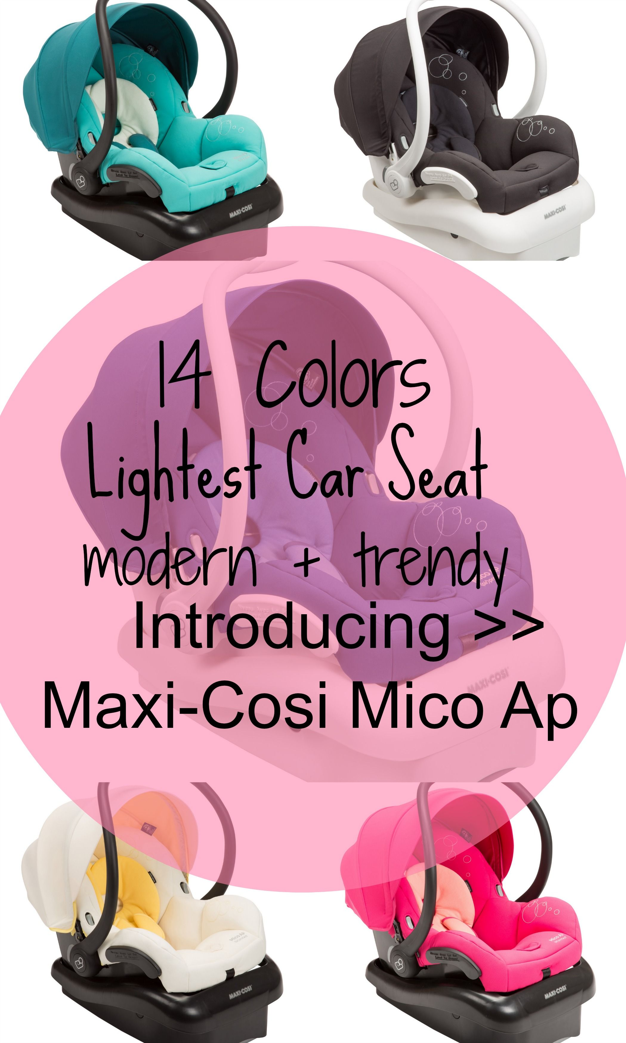 Maxi Cosi Launches Lightest Car Seat Introducing The Mico AP