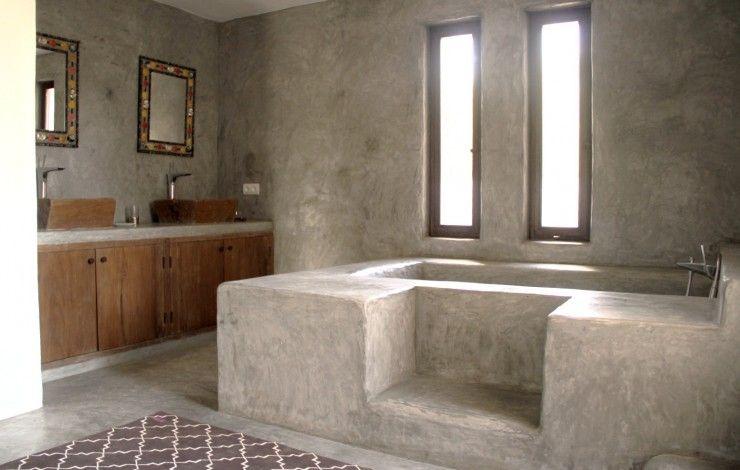 beton salle de bain