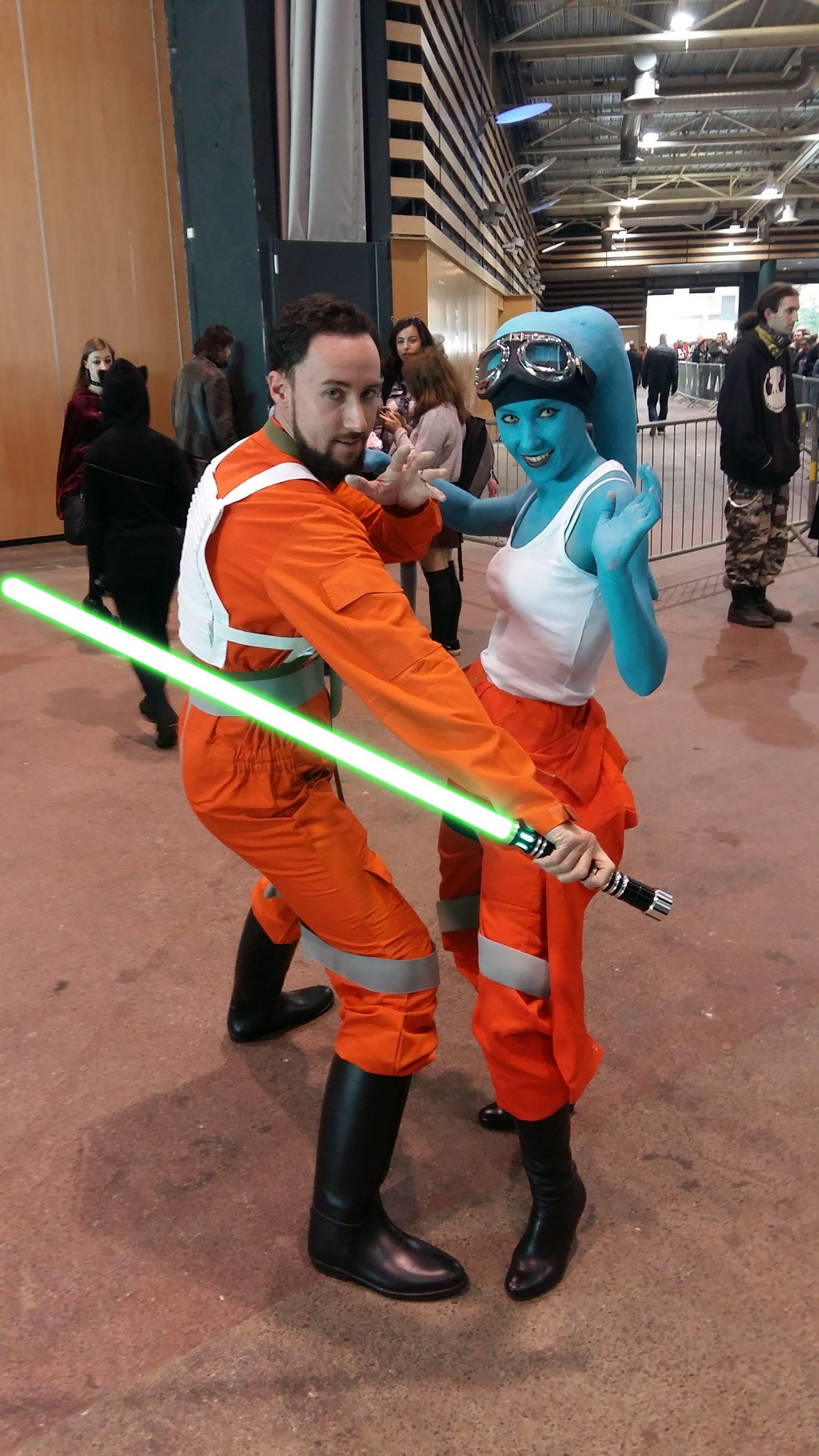Cosplay twi'lek star wars x-wing