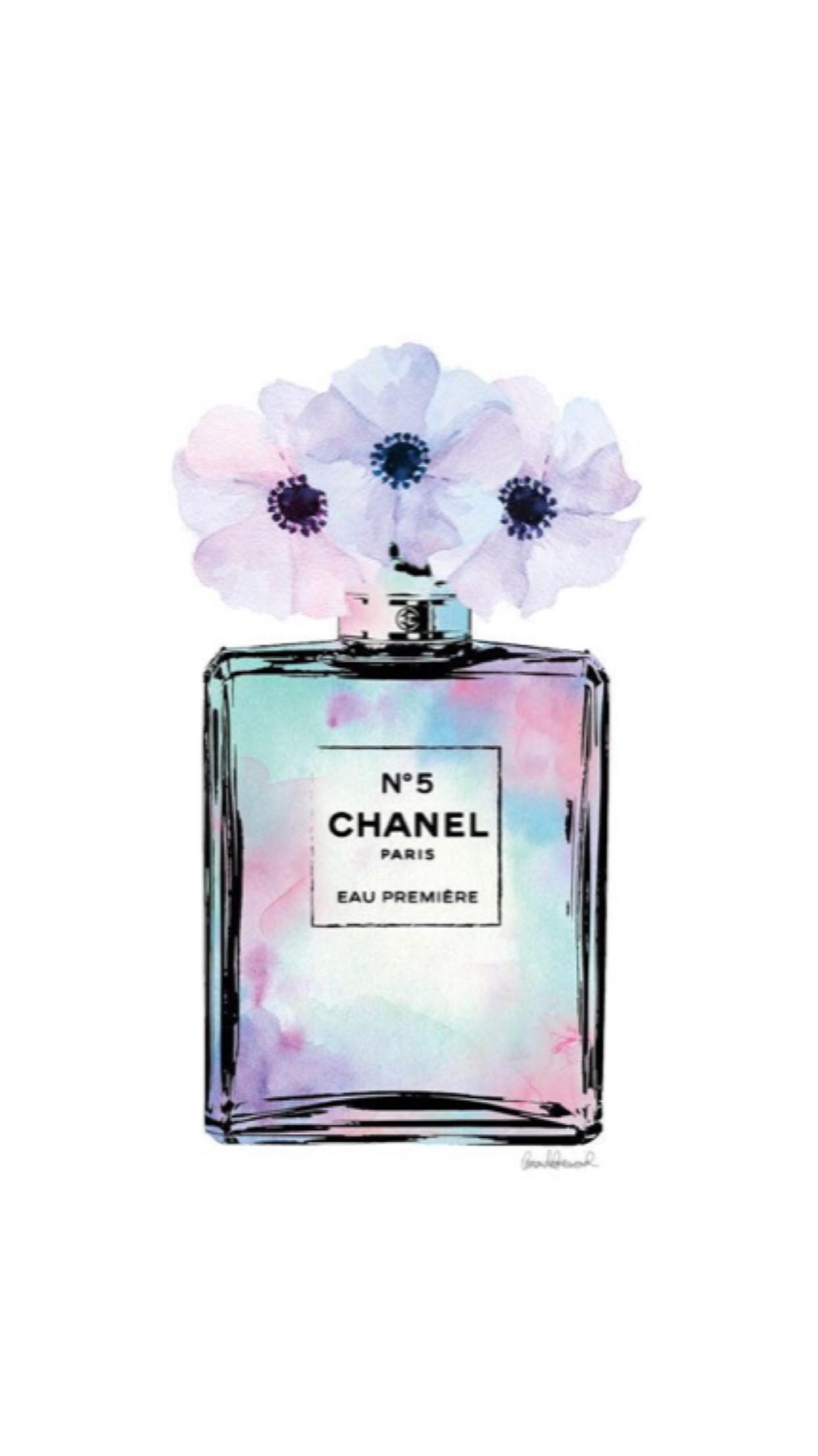Pin By Outfits De Moda On Wallpapers Vol 41 Perfume Bottles Chanel Art Perfume Art