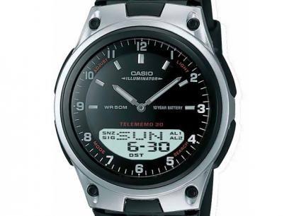 18068ca0134 Relógio Masculino Casio Anadigi - Resistente à Água Mundial AW-80-1AVDF com  as melhores condições você encontra no Magazine Cms6. Confira!
