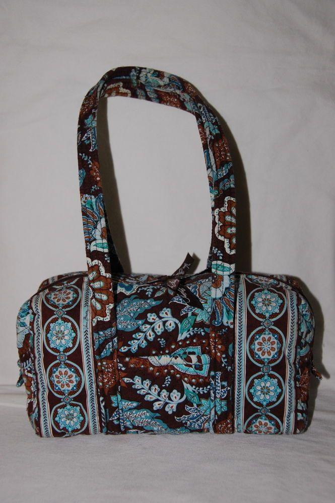 b75c2051bd Vera Bradley Handbag 100 Java Blue Purse Perfect  VeraBradley  ShoulderBag