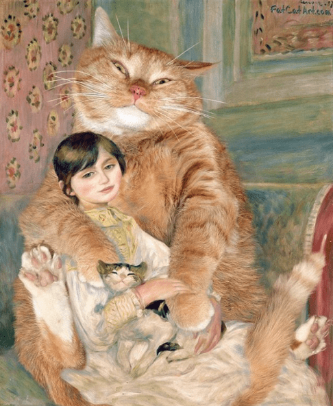 Fat Cat Art Is Our Favorite Way to Enjoy Famous Paintings - I Can Has Cheezburger?