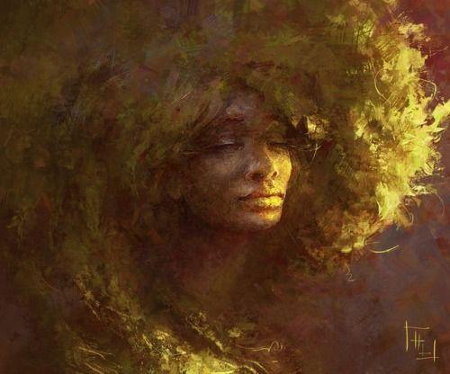 Afro Dryad at Harkale-Linai - Afro Dryad at Harkale-Linai -