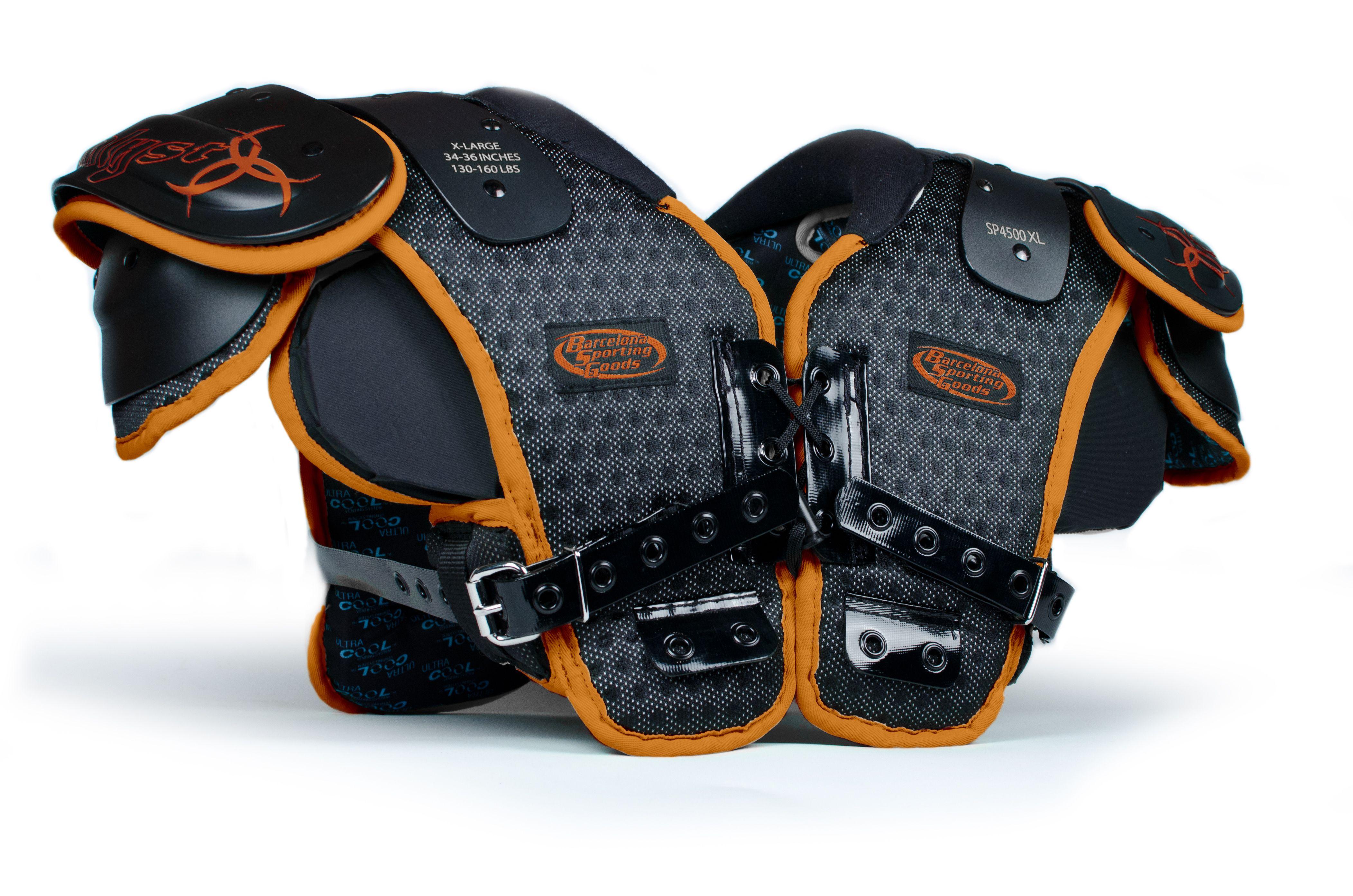 New custom bsg catalyst youth shoulder padcustom pad