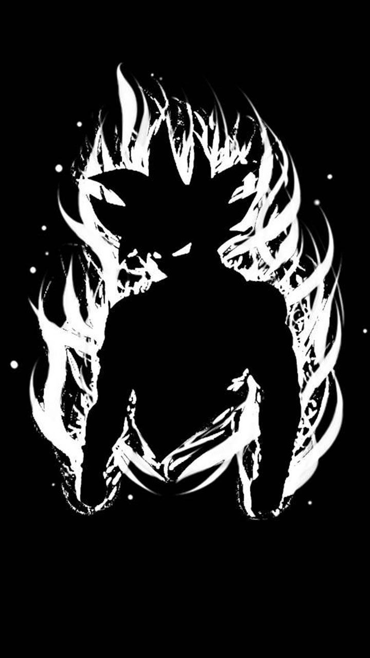goku silhouette wallpaper