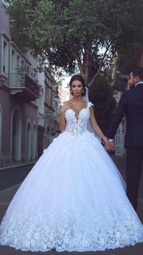 14 inspiraciones únicas e impresionantes de vestidos de novia para tu gran día