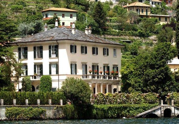 George Clooney Photostream Celebrity Houses Lake Como Villas Villas In Italy