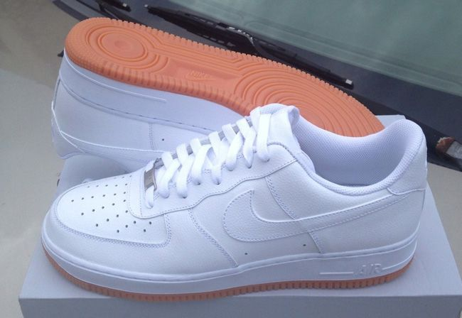 nike air force 1 low - men's white\/tech grey\/gum repper