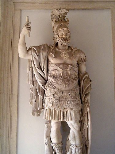 Mars Ultor Roman Sculpture Roman Art Roman Costume