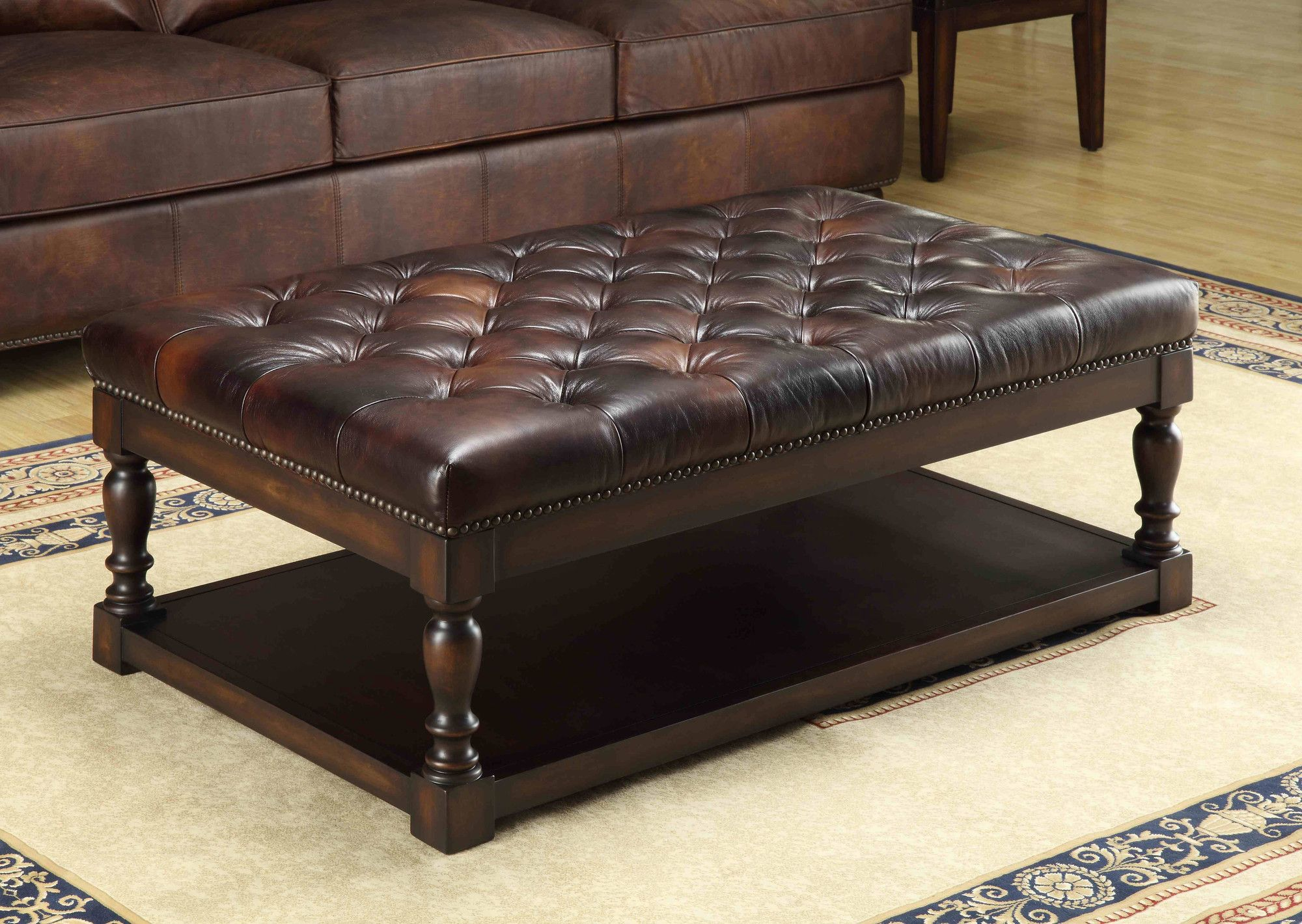 Lazzaro Leather Coffee Table U0026 Reviews | Wayfair