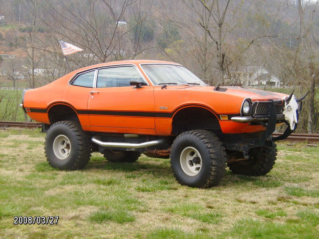 1970 Ford Maverick Grabber With Images Ford Maverick Lifted