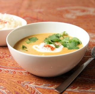 Gluten-free Mulligatawny Soup (adapted from Cooks Illustrated): another recipe the whole family loves.  I serve it with brown rice and lime wedges. #mulligatawnysoup