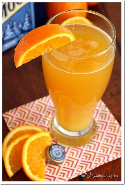 Drink & Dish: Citrus Beer Cocktail {with Video!}