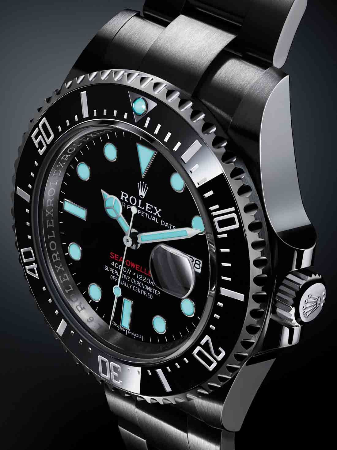e22f39891d5f1 Rolex Sea-Dweller 126600 Watch Marks 50th Anniversary Of The Sea-Dweller  Hands-On