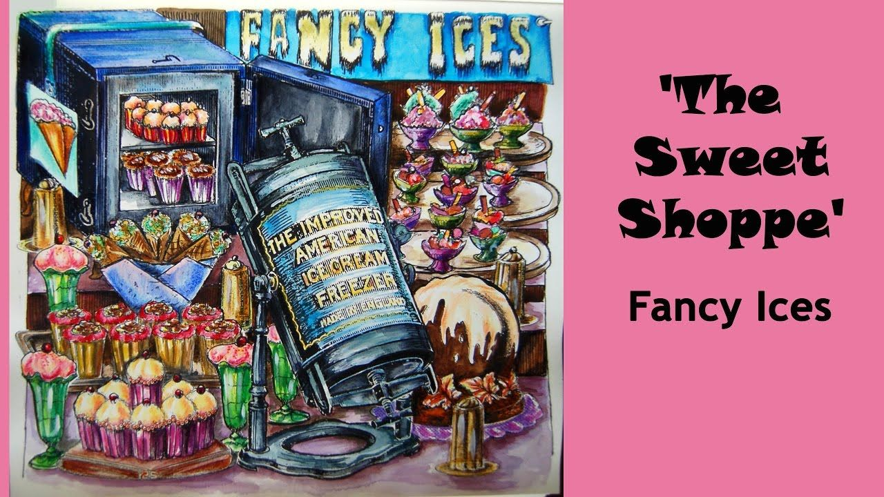 Colouring 'The Sweet Shoppe'. Fancy Ice / Раскраска ...