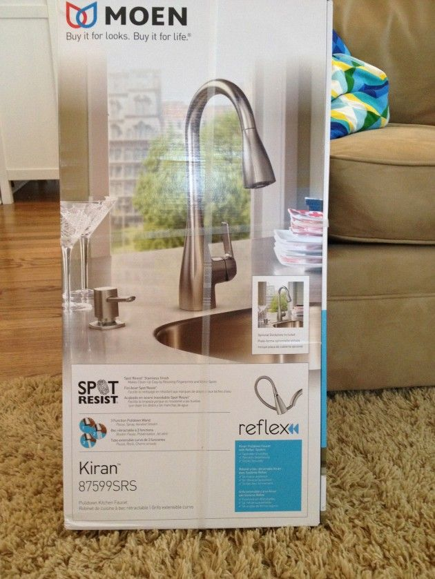 Our Brand Spankin\' New Moen Faucet | Kitchen faucets, Tap and Kitchens
