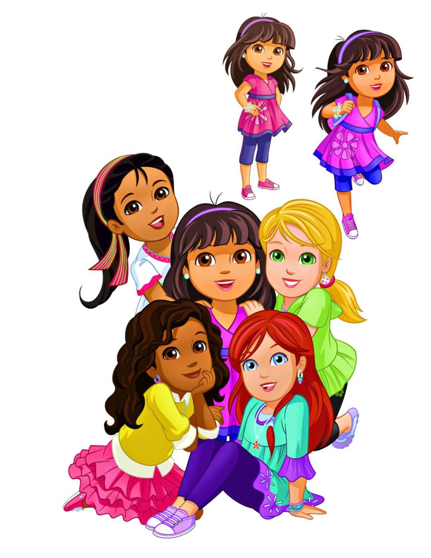 Dora Image, Dora Cutout,Dora and Friends Image,Nick Cartoon Image ...