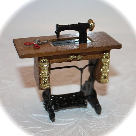Vintage Doll House Miniature Furniture by LoriLakeTreasures, $10.00