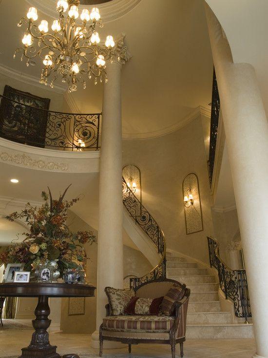 Best Mediterranean Staircase Design Pictures Remodel Decor 400 x 300