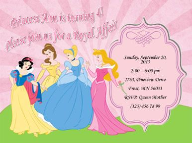 Royal Affair Theme Free Invitation Template By Hloomcom P - Party invitation template: princess party invitation template