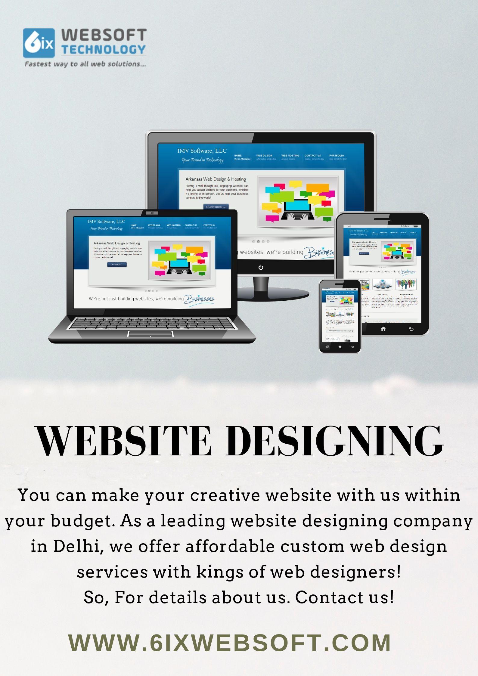 Website Designing Services In Delhi Web Design Services Website Design Fun Website Design Website Design Services