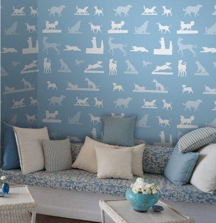 Wohnzimmer Tapete Pedigree Tapeten für schönes Wohnen von der - schöne tapeten fürs wohnzimmer