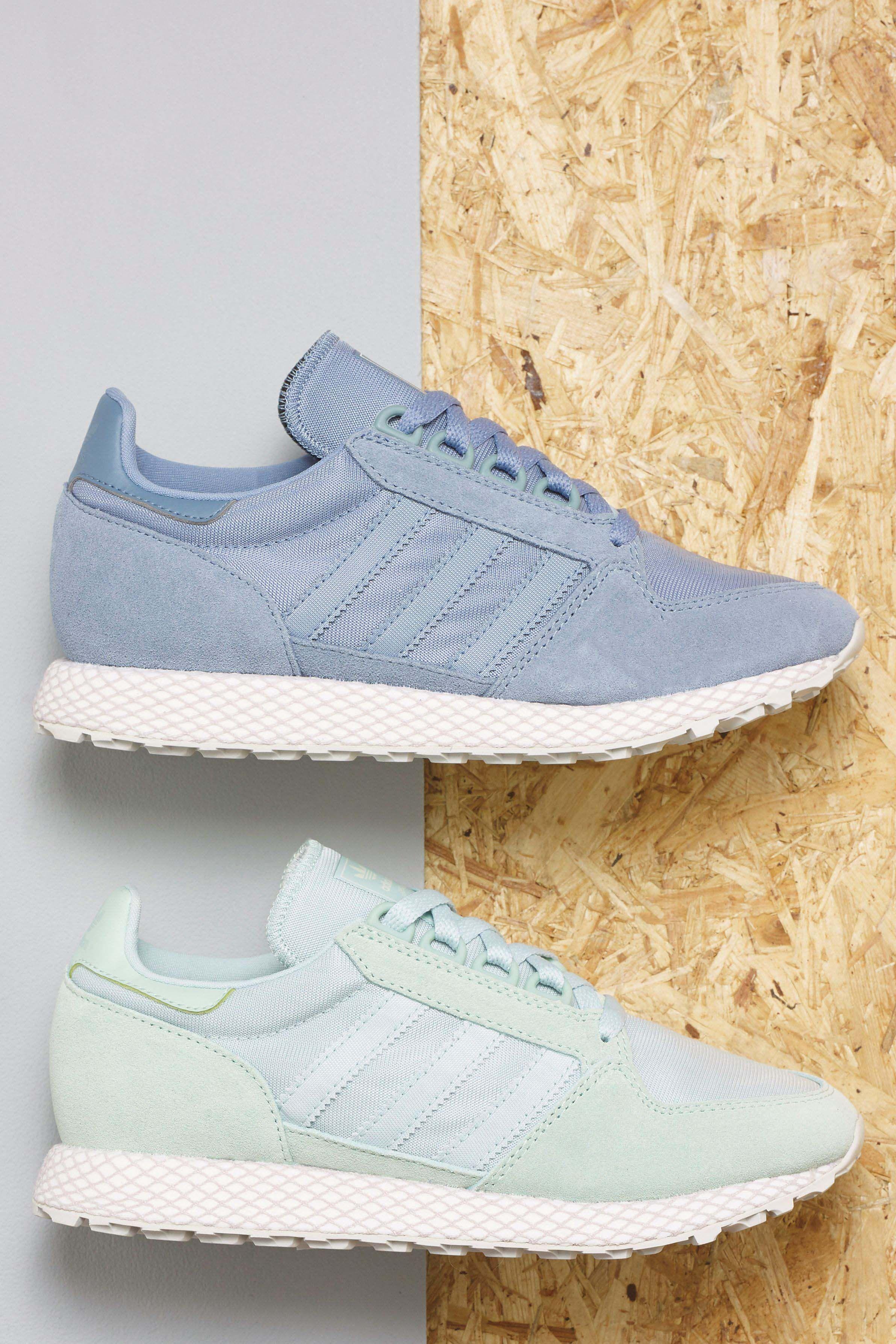 newest 4f71d c9139 Womens adidas Originals Blue Forest Grove - Blue