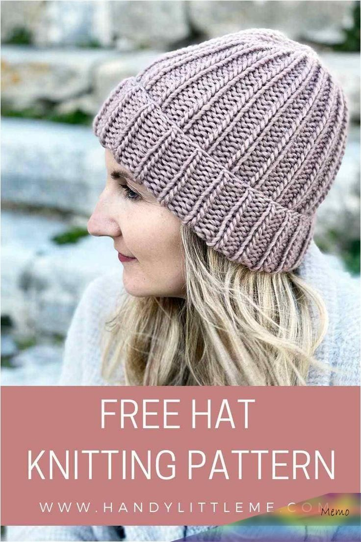 Feb 23, 2020 - How to knit a hat with straight needles for ...