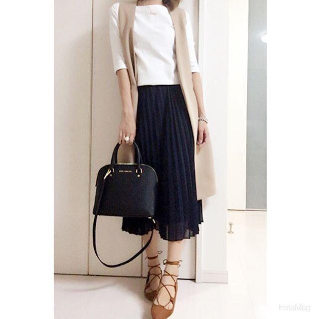 286286a5c46d8 ユニクロのシフォンプリーツスカートが欲しい♡ - Locari(ロカリ)