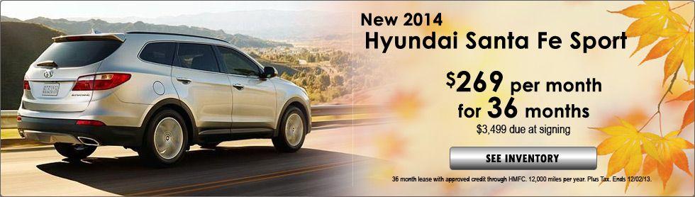 Hyundai Santa Fe Sport Special! http//www.glennhyundai
