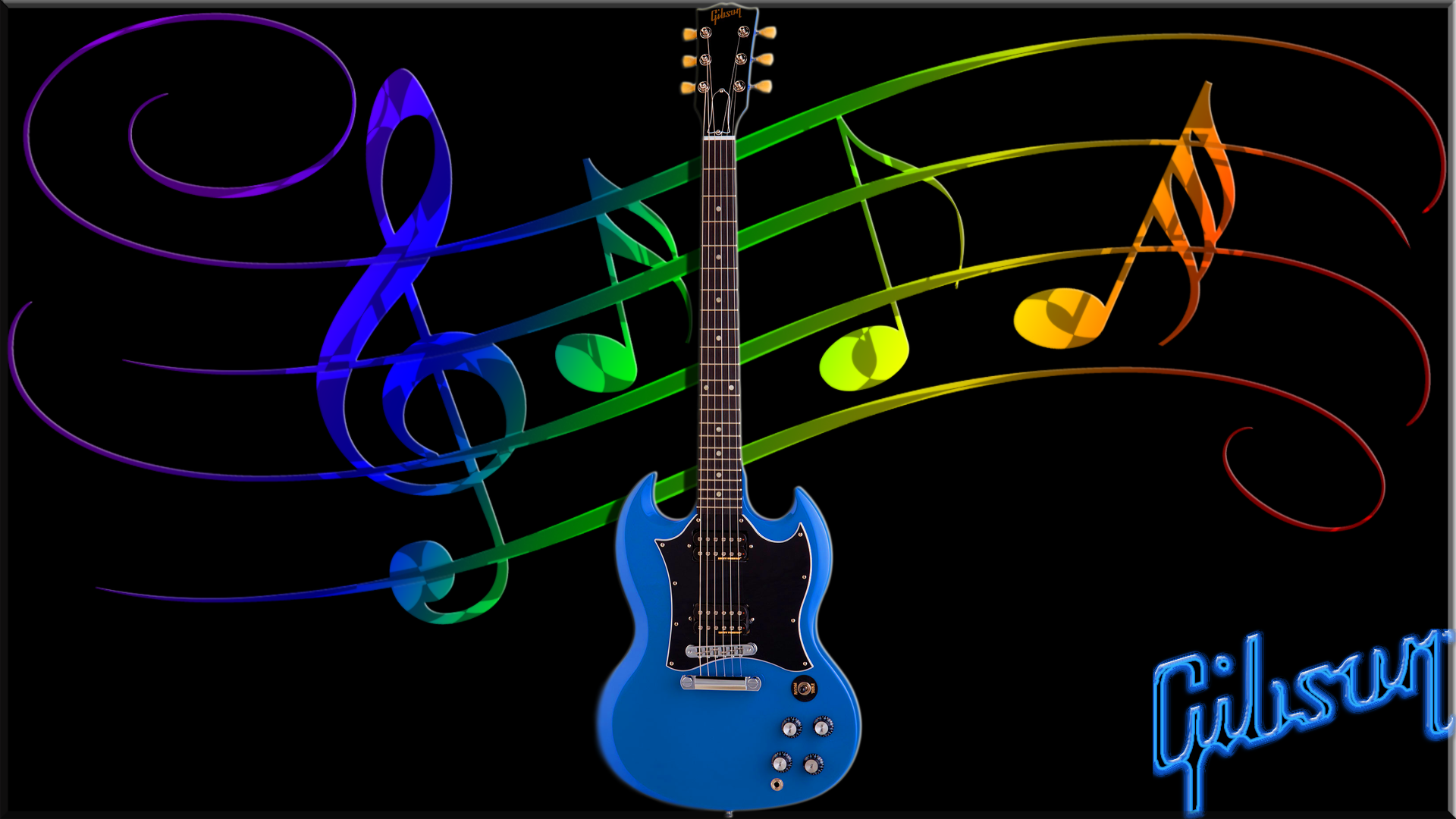 Music Guitar Bass Gibson Wallpaper Musicales