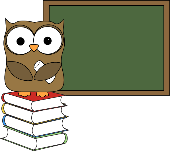 owl with books and chalkboard http www mycutegraphics com clip rh pinterest ca clipart chalkboard eraser clipart chalkboard ribbon