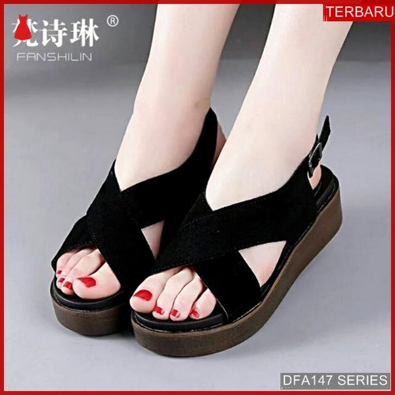 Dfa147s30 Ss14 Sandal Wedges Adifa Wanita 8083 Dewasa Bmgshop