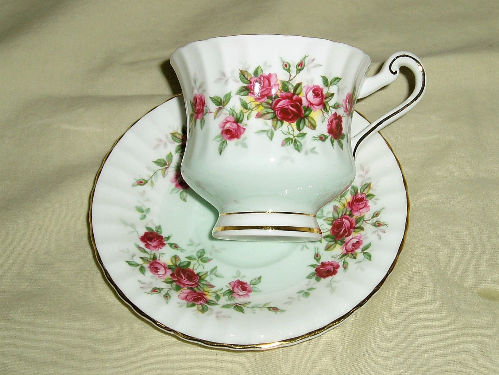 Rose Pattern China Awesome Decoration