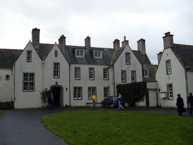 Delightful Home Of The Scotts Of Harden | Harden House   Earliest Parts Of The Present  House
