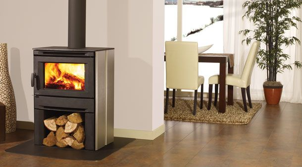 The New Look Of Wood Stoves This Is Certainly Not Your Grandma S Cast Iron Relic For Sure These Units Wood Stove Small Wood Stove Modern Wood Burning Stoves