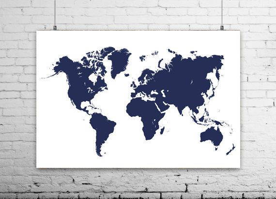 Printable navy world map poster dimensions 36 x 24 jpg 300dpi printable navy world map poster dimensions 36 x 24 jpg 300dpi rgb gumiabroncs Gallery