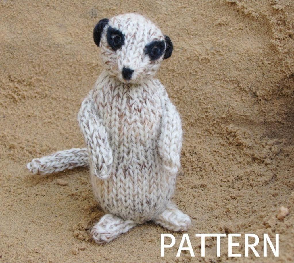 Meerkat Pattern | Knitting patterns, Free pattern and Patterns