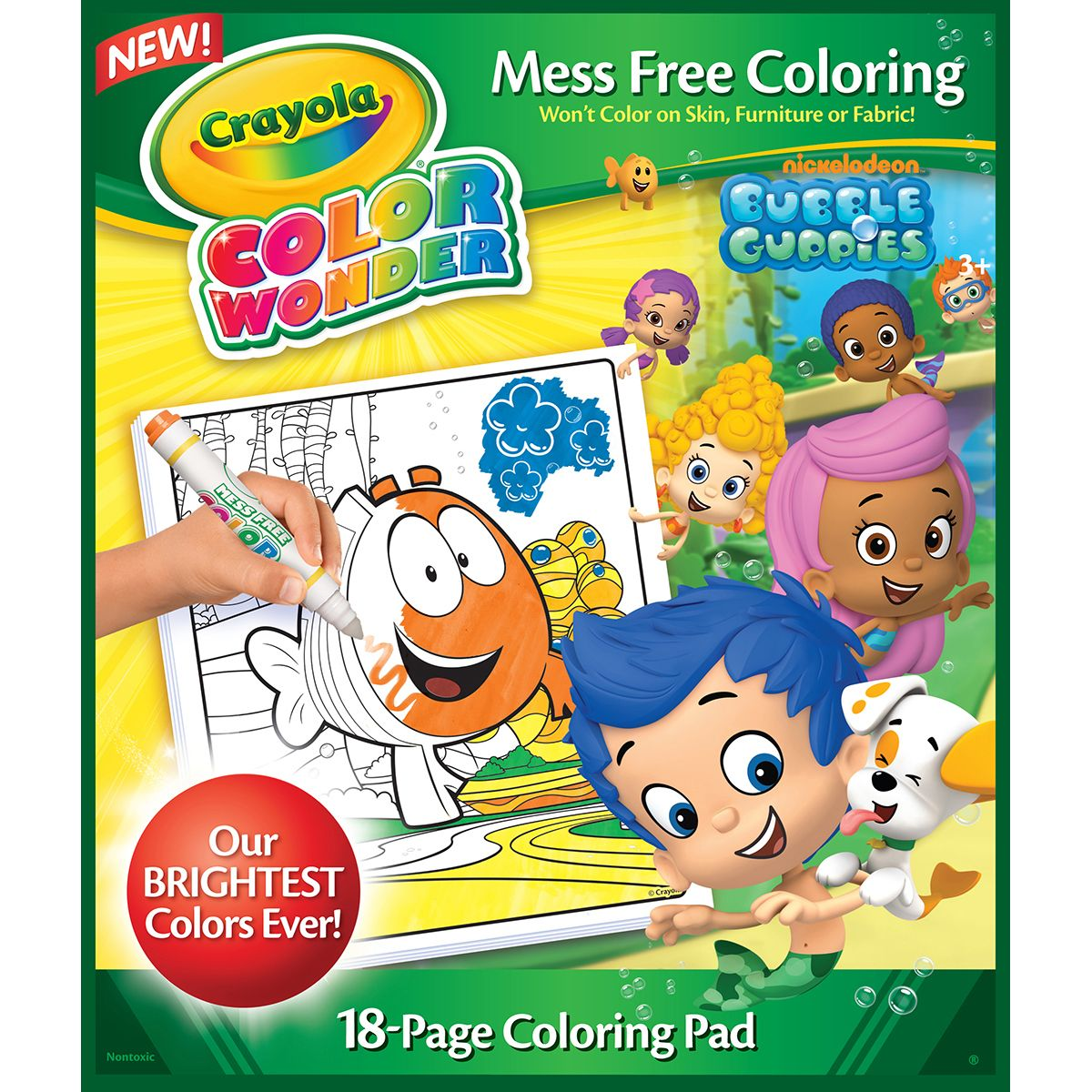 Crayola Color Wonder Coloring Pad-Bubble GuppiesCrayola Color Wonder ...