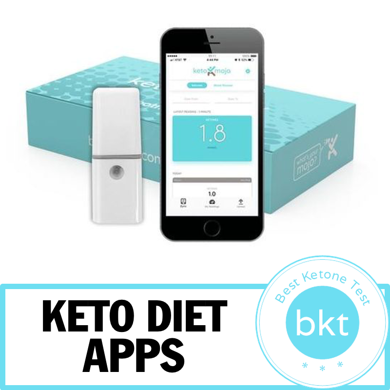 KetoMojo Bluetooth Connector Diet apps, Keto, App