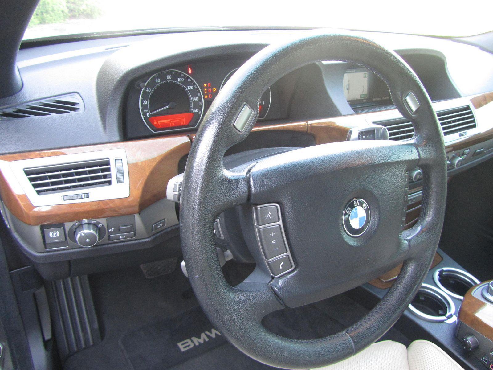Picture Of 2007 Bmw 7 Series 750li Interior Bmw 7 Series Bmw